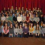 """Schreiber High School """"Anything Goes"""" cast"""