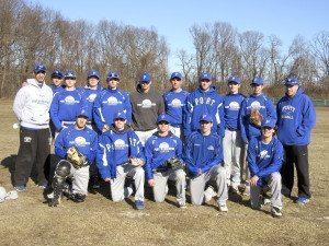Schreiber varsity baseball team