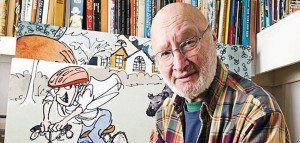 Cartoonist and novelist Jules Feiffer