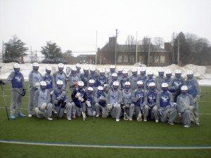 Schreiber boys lacrosse team