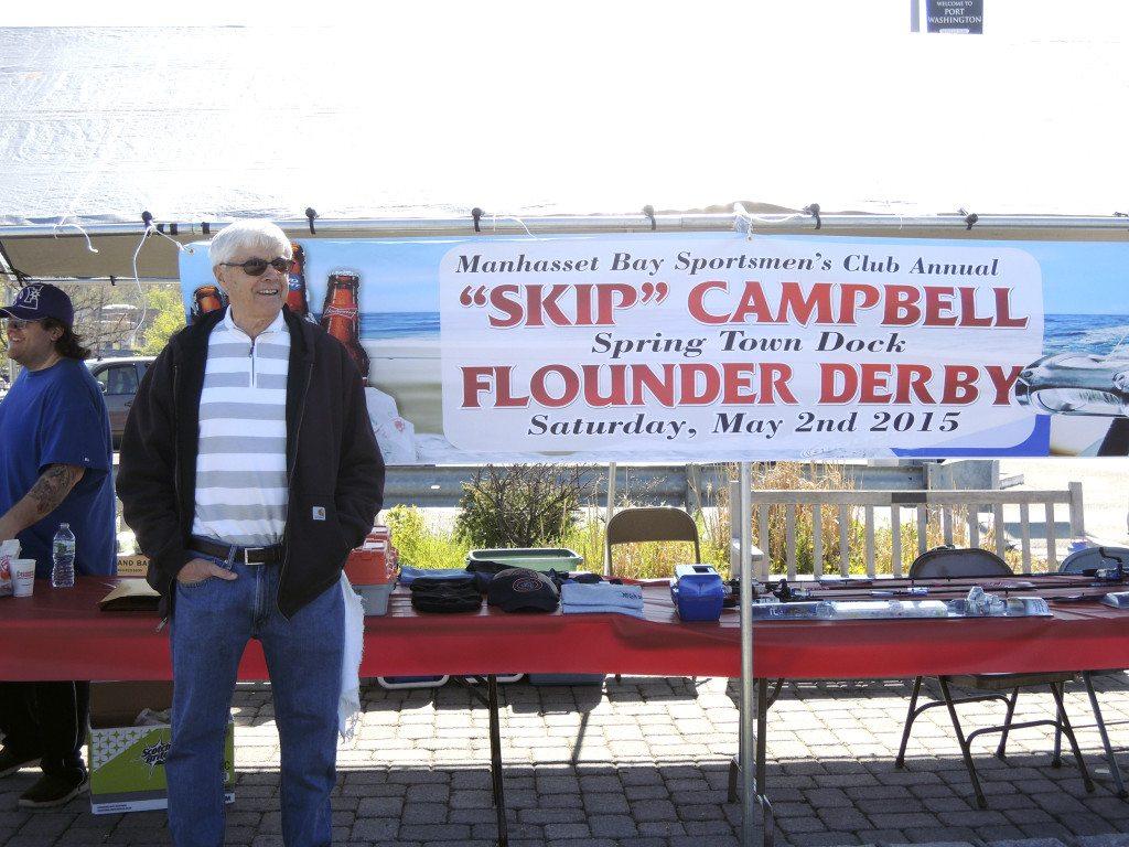 Manhasset bay sportsmen s club flounder derby port for Port washington fishing
