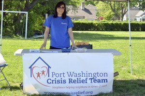 Vivian Moy of Port Washington Crisis Relief Team at PortFest 2014