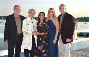 The Corbisiero family (from left): Michael, Camille, Lecia, Cree, Michael Jr.