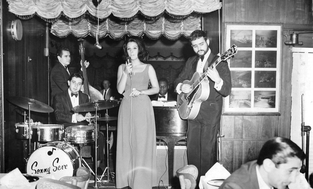 Camille Carlyle (Corbisiero) at Ricardo's, a Queens supper club.