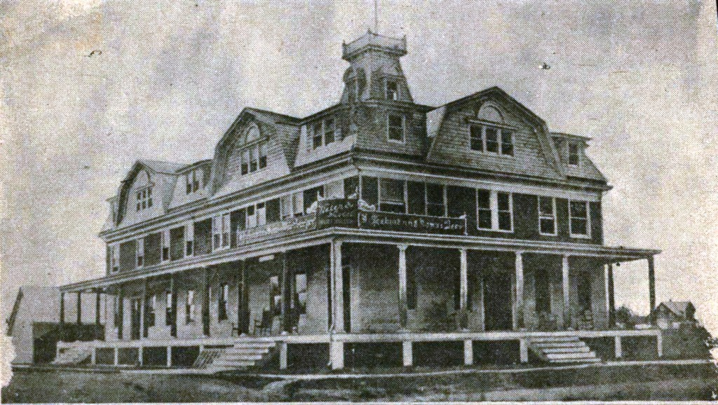 The Port Washington Hotel Was Enlarged And Later Became Bradley S