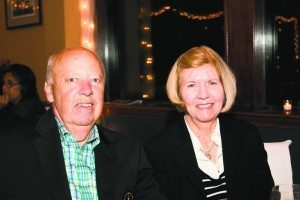 Clair and Arthur H. Buhr, PWYC member and owner of Total Dollar, who has been a steadfast funder for the Charity Cup.
