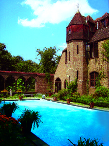 Sands Point Falaise is one of the remaining castles on The Guggenheim Estate.