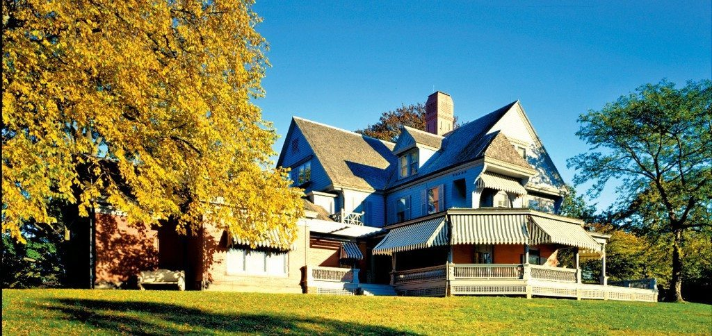 Sagamore Hill was home of the 26th U.S. President, Theodore Roosevelt, from 1885 until his death in 1919.