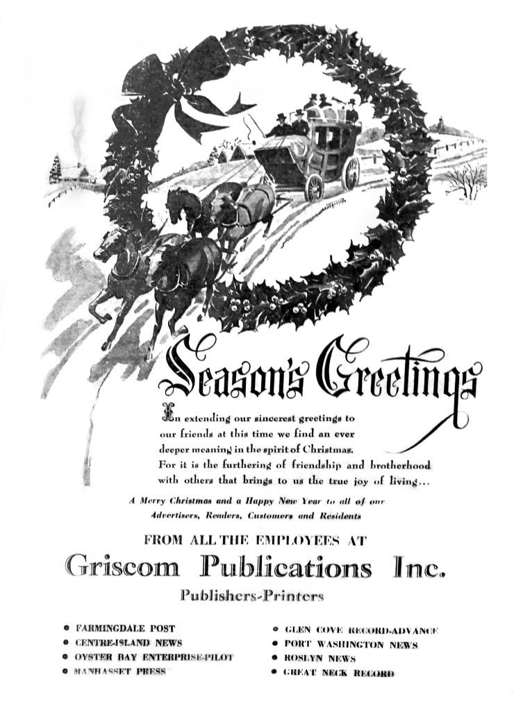 Seasons greetings port washington news seasons greetings from 1952 m4hsunfo