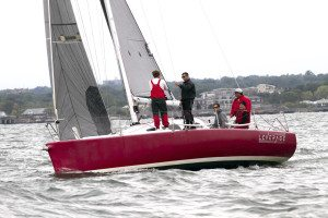 Congratulations to Arthur Buhr, III, Port Washington YC, on his nomination as vice president of the Yacht Racing Association of Long Island Sound (YRALIS) Board of Directors. He is seen here skippering his boat, Leverage, out on Long Island Sound.