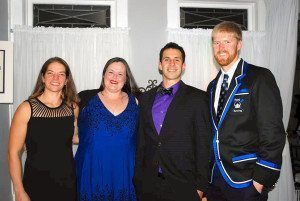 Some of the Port Rowing coaches: Tara Passoni, Deirdre Saunders, Jason Rich and Director of Rowing Darren Gary