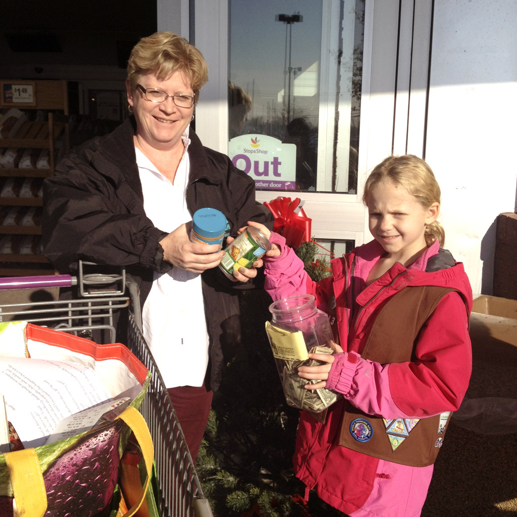Girl Scouts Annual Food Drive A Success Port Washington News