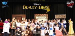 Beauty and the Beast, Jr Cast photo by Emma Goldman