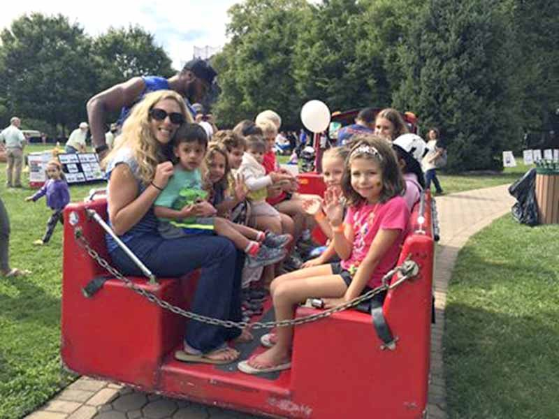 Party In The Park, at Blumenfeld Family Park, Port Washington