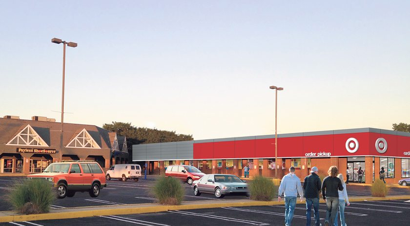 Professional rendering of the proposed Target store.